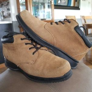 Lands End mens Chukka Boots Casual Outdoor Shoes